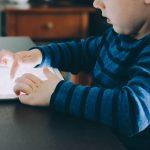 Kids Using Old Tech